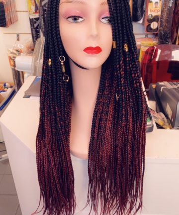 braiding wig
